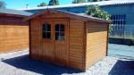 Abri Madriers bois massif / 28 mm / 13,45 m²