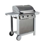 Barbecue gaz mixte à capot FIESTA 3 (3 brûleurs)
